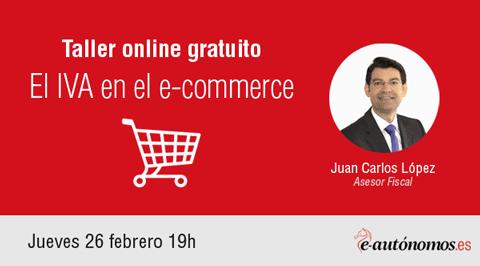 Taller online: El IVA en el e-commerce