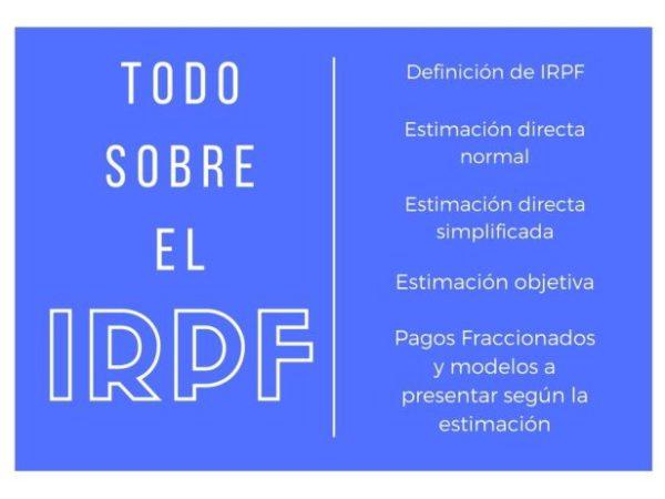 todo sobre el IRPF