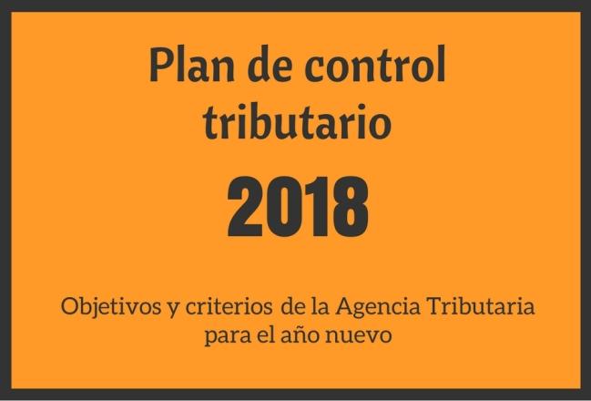 Control tributario 2018