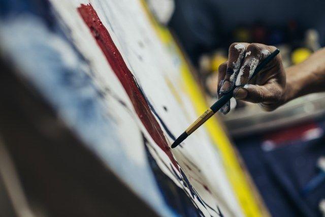 pintor, arte, imágen