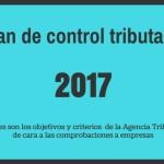 Plan de control tributario 2017