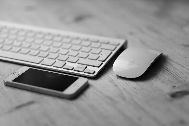 ratón, móvil, phone, keyboard