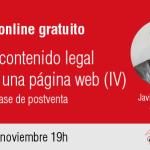 Taller online: El contenido legal de una página web IV