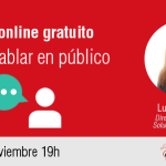 Taller online: Cómo hablar en público